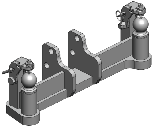 For K80®-Pickup Hitch Inserts
