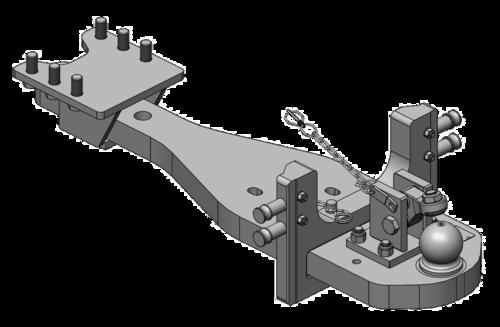 10 St/ück B/ügelschelle M8 Rohrschelle /Ø 80 mm